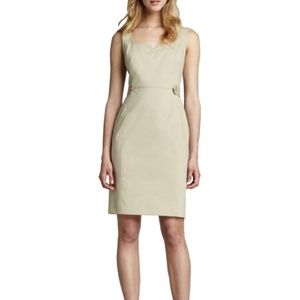 Tory Burch Dress Tayler Dress Office Dress Tan